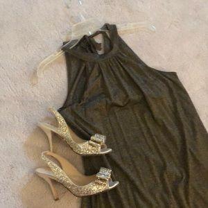 Michael Stars ⭐️ Bronze Stretch Dress